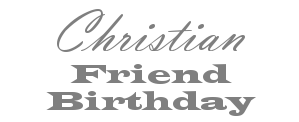 Christian Friend