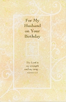 2009 - $2.95 Retail Each - Birthday Husband Religious PKD 6