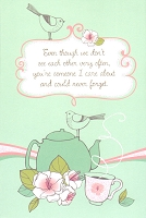 4423 - $3.49 I Care Greeting Card - PKD 6