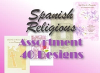40 Design Spanish Religious Card Assortment packed in 6's with additional 20% discount at check-out