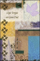 6326 - $2.50 Retail Each - Spanish Birthday Masculine Religious PKD 6
