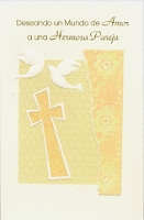 6478 - $2.50 Retail Each - Spanish Wedding Religious PKD 6