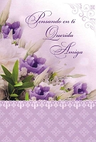 6752 - $2.80 Retail Each - Wrapped Spanish Cards - Friendship Thinking Of You PKD 6