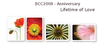 BCC2008 -  Anniversary Christian Boxed Cards