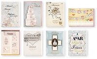 PC3009 - $3.49 Handmade Hispanic Wedding Card Assort. 8 designs - Total 96