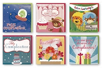 PC3010- $3.49 Handmade Hispanic Pop-UP! Birthday Card Assort - Total 90