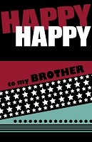 2806 - $2.50 Retail Each - Birthday Brother Funny PKD 6