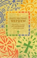 3307 - $3.25 Retail Each - Birthday Nephew Religious PKD 6