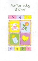 3803 - $2.99 Retail Each - Baby Shower PKD 6