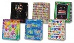 6664 - $3.49 Retail Each - Large Gift Bag Birthday Assortment PKD 12