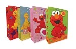 6669 - $4.49 Retail Each - Jumbo Gift Bag Sesame Street Assortment PKD 24