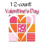 7121 - 12 design Valentine Assortment with additional 25% discount off wholesale and profit of $153