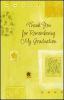 7292 - $2.50 Retail Each - Graduation Thank You PKD 6