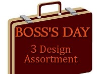 8900 - Boss's Day 3 Design Assortment PKD 6 - Special Price