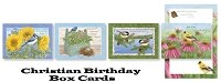 BCC1001 -  Christian Boxed Cards Floral Birthday Assortment - PKD 24