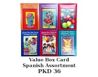 BCV1008 - Spanish Value Boxed Assortment - PKD 36