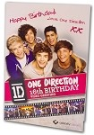 CFC001 - One Direction Video Greeting Cards Sampler Assortment