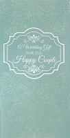 wed0013 - $2.80 Retail Each - Wedding Money Holder Greeting Cards - English Language - value - wholesale units of 6 cards