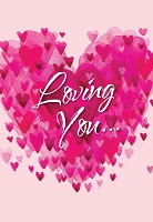 07002 - $2.80 Retail Each - Value Love You Greeting Cards PKD 6
