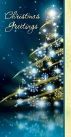 20753- $2.80 Retail Each - Christmas Money Holder Greeting Cards PKD 6