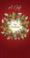 21090 - $2.80 Retail Each - Christmas Money Holder Greeting Cards PKD 6