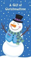 21215 - $2.80 Retail Each - Christmas Money Holder Greeting Cards PKD 6