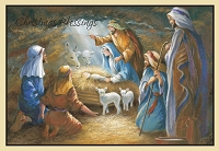 CGCRE001 - $2.80 Retail Each - Christmas Cards Religious PKD 6