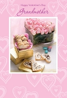 val11031 - $2.80 Retail Each - Valentine's Day Grandmother Greeting Cards - English Language - wholesale units of 6 cards