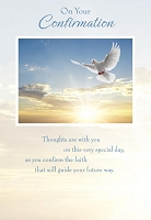 CCGC009 - $2.80 Retail Each - Confirmation Greeting Cards - Value cards - wholesale units of 6 cards