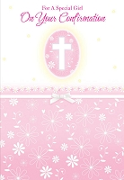 CCGC016 - $2.80 Retail Each - Confirmation Girl Greeting Cards - Value cards - wholesale units of 6 cards
