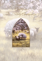 CCGC020 - $2.80 Retail Each - Communion General Greeting Cards - Value cards - wholesale units of 6 cards