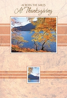 THA07 - $2.80 Retail Each - Thanksgiving Accross the Miles Greeting Cards PKD 6