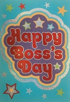 BOSS001 - $3.99 Retail Each - Boss's Day Greeting Cards Pkd 3