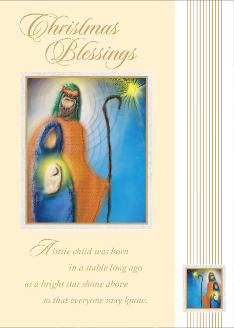 Religious Christmas Cards For Children.Cgcre009 3 99 Retail Each Christmas Cards Religious Pkd 6