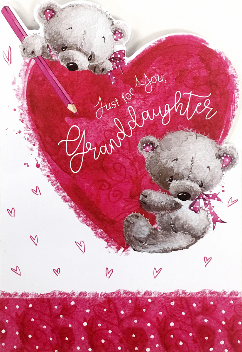 Wholesale Valentines Day Parents Greeting Cards