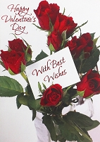 val11002 - $3.49 Retail Each - Valentine General Greeting Cards - English Language - wholesale units of 3 cards