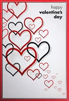 val11100 - $3.99 Retail Each - Valentine's Day General Greeting Cards - English Language - Premium - wholesale units of 3 cards