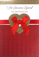 val11018 - $5.99 Retail Each - Valentine General Greeting Cards - English Language - wholesale units of 3 cards