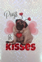 val11127 - $5.99 Retail Each - Valentine's Day Love Humorous Greeting Cards - English Language - Premium - wholesale units of 3 cards