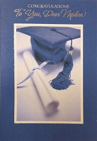 Grad013 - $3.99 Retail Each - Graduation Nephew Cards - PKD 3