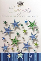 Grad027 - $3.99 Retail Each - Graduation Junior High Cards - PKD 3