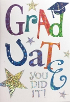 Grad029 - $3.99 Retail Each - Graduation General Cards - PKD 3
