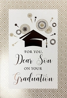 Grad030 - $3.99 Retail Each - Graduation Son Cards - PKD 3
