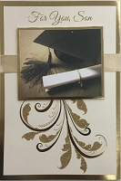Grad036 - $5.99 Retail Each - Graduation Son Cards - PKD 3