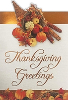 THA10 - $3.99 Retail Each - Thanksgiving Greeting Cards PKD 3