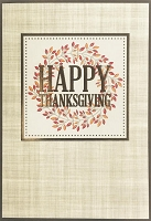 THA12 - $3.99 Retail Each - Thanksgiving Greeting Cards PKD 3