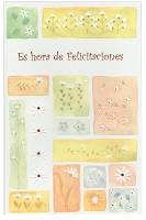 6521 - $2.75 Spanish Cards Congratulations PKD 6