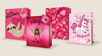 VGB001 - $4.49 Retail Each - Valentine's Day Large Gift Bag Assortment - wholesale units of 48 Large Gift bags
