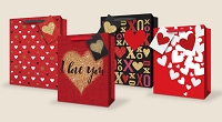 VGB006 - $4.99 Retail each - Valentine's Day Large Gift Bag Assortment - wholesale units of 48 Large Gift bags