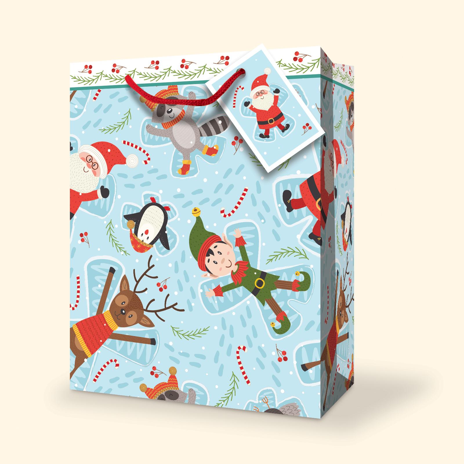 Elf Christmas Gift Bags.Wholesale Christmas Gift Bags